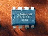 W25Q80BVAIG / W25Q80DVAIG / W25Q80JVAIG / 25Q80BV / 25Q80DV / 25Q80JV / 25Q80 DIP8 - 1Mb SPI Flash - BIOS