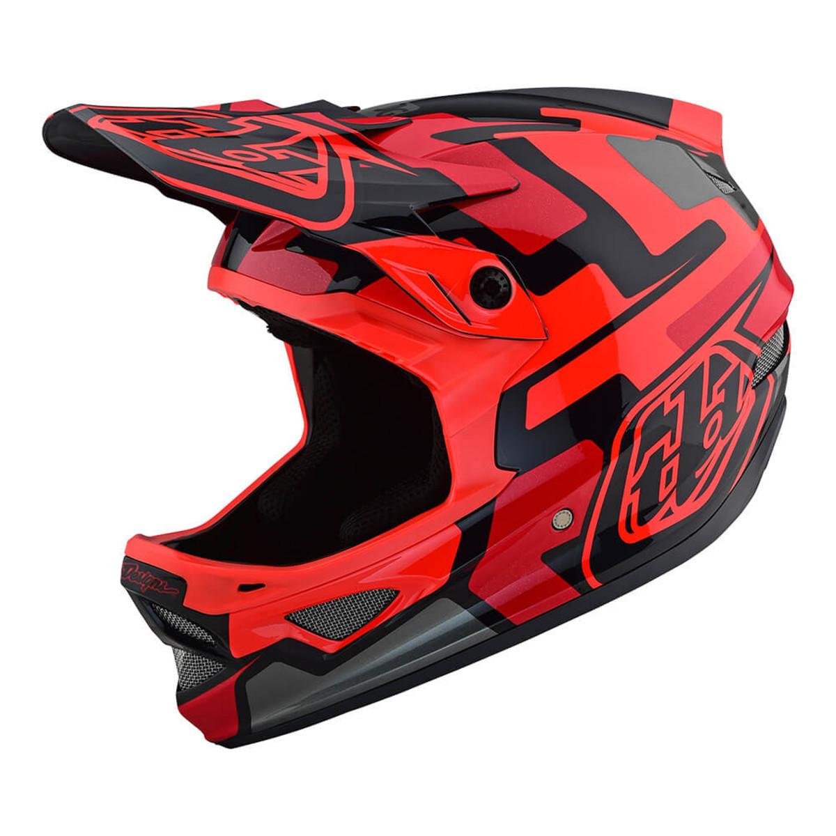 Вело шлем TLD D3 Fiberlite  Speedcode [RED] размер XL