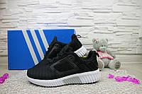 Женские кроссовки текстильные весна/осень черные Classica G 7391 -8
