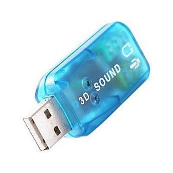 Звуковая карта USB внешняя Спартак Sound card 5.1