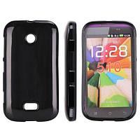 Чехол на телефон TPU cover case for Nokia Lumia 510 black