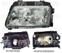 Фара правая Audi A4 (B5) механический/электрический корректор (ТИП BOSCH) (MAGNETI MARELLI)