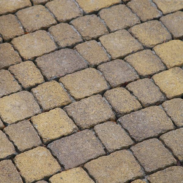 Обработанная тротуарная плитка Креатив Антик