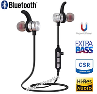 Наушники и гарнитура беспроводные Bluetooth M11-1 / MP3 плеер. Вакуумные наушники. Бездротові навушники, фото 1