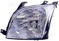 Фара правая Ford Fusion электрический корректор с экраном лампы (DEPO)
