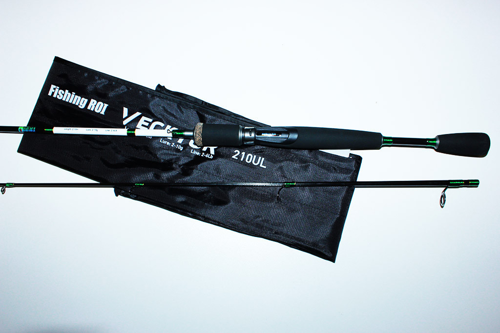 Спиннинг  Fishing Roi Vecktor 2.40 м.(тест 2-10 г.)