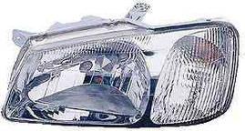 Фара правая Hyundai Accent 99-05 электрический корректор черный (FPS)