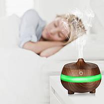 7 Успокаивающий Светодиодный Ультразвуковой Аромат Диффузор Essential Масло Увлажнитель воздуха Ароматерапия Очиститель - 1TopShop, фото 3