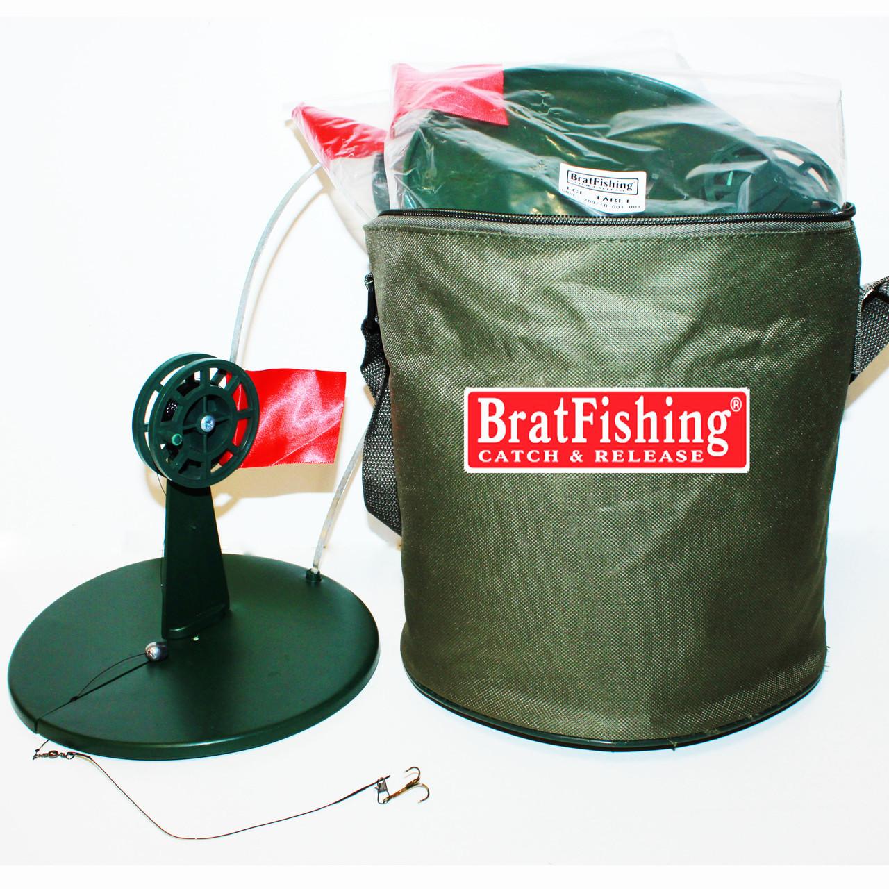 Жерлицы BratFishign (оснащенные) 10 шт. в сумке