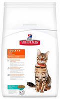 Сухой корм Hill's Adult Optimal Care Корма Хиллс для кошек с тунцом 10 кг