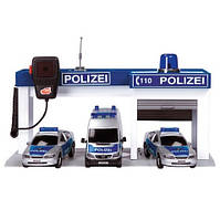 Полицейская база с машинами Dickie 3603164