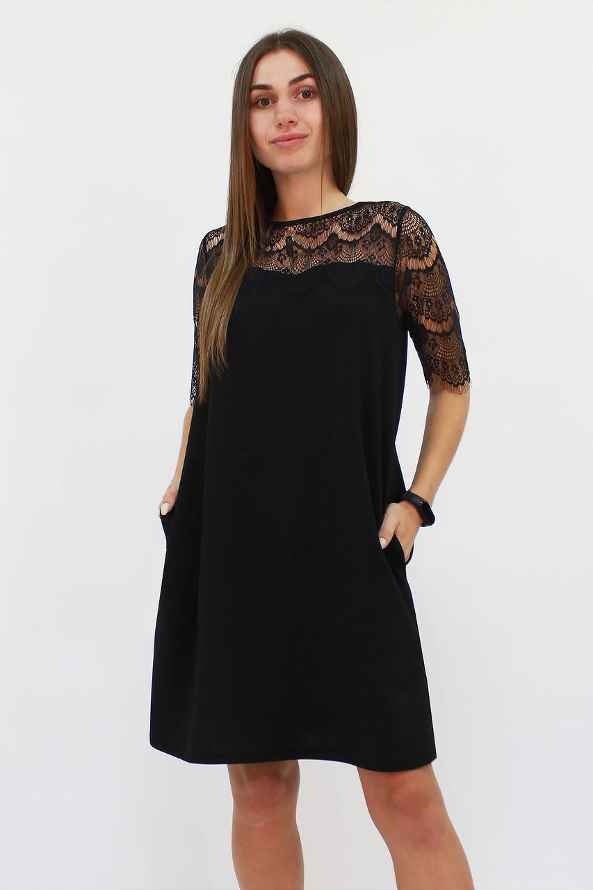 S, M, L / Коктейльне жіноче плаття Arizona, чорний