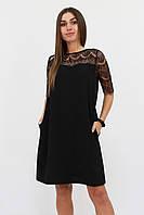 S, M, L / Коктейльне жіноче плаття Arizona, чорний L (46-48)