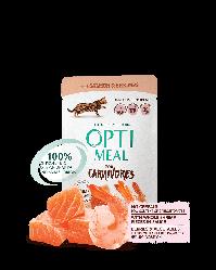 Пауч Optimeal Adult Оптіміл з лососем і креветками в соусі для дорослих кішок без зерновий 85 г