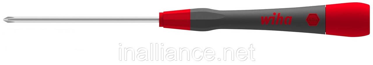 Тонкая микро отвертка PH1 x 60 мм PicoFinish Wiha 42415