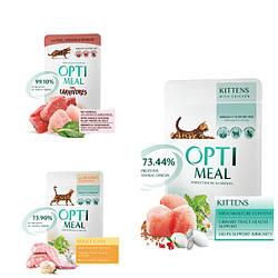 Вологий корм Optimeal Оптіміл для кішок