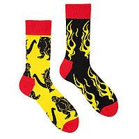 Мужские носки Sammy Icon Godzilla 40-46 Чёрно-желтые