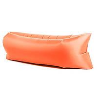 Надувной матрас гамак MHZ AIR Sofa 1,9м Orange