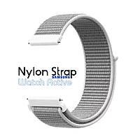 Нейлоновый Ремешок для Galaxy Watch Active White