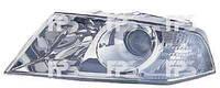 Фара правая Skoda Octavia 1Z электрокорректор AMBIENT с линзой хромированный отражатель (DEPO)