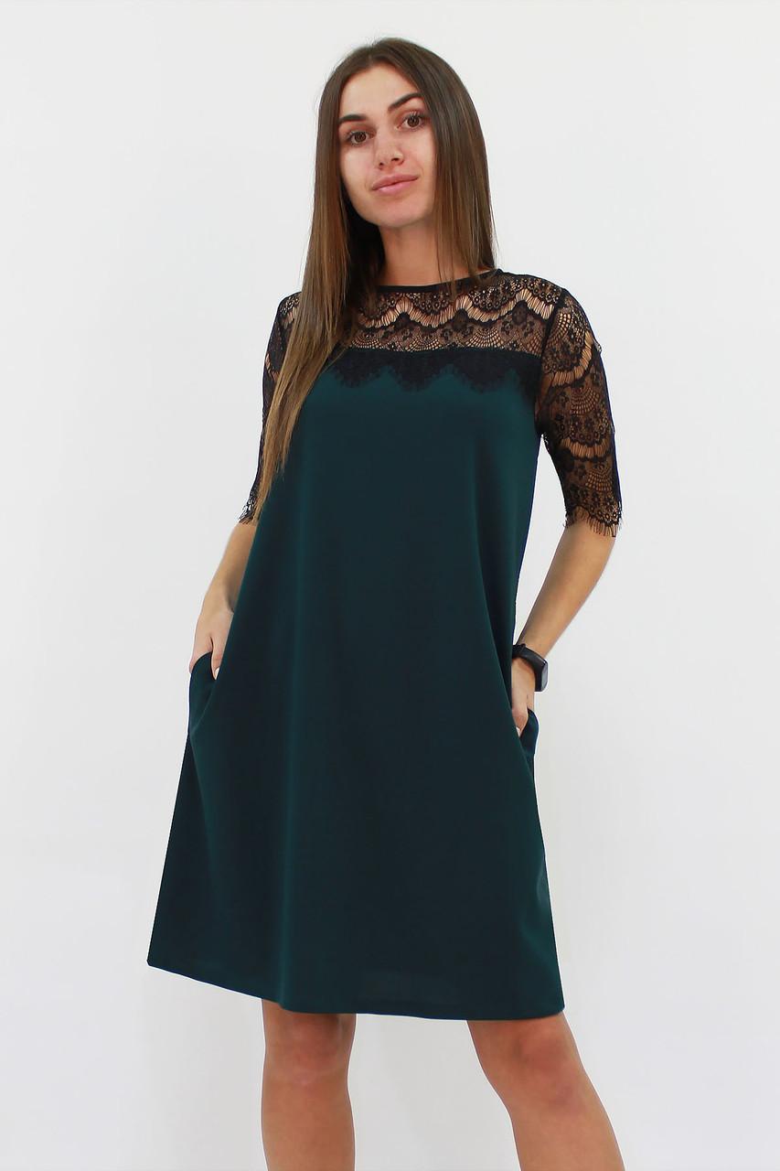 S, M, L / Коктейльне жіноче плаття Arizona, зелений