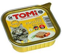 Tomi Poultry Liver Вологий корм для кішок Птах-печінка паштет 100 гр