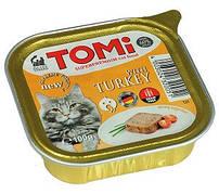 Tomi Turkey Супер преміум корм для кішок паштет c м'ясом індички 100 гр