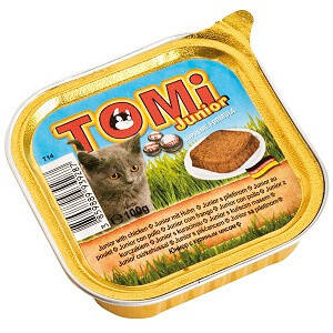 Консервы Томи для котят Tomi Junior паштет 100 гр, фото 2