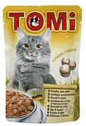 Tomi (Томі) Poultry Rabbit Консерви для котів Птах і кролик 100 гр