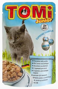 Влажный корм для котят Tomi (Томи) Junior 100 гр