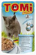 Вологий корм для кошенят Tomi (Томі) Junior 100 гр