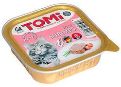 Консерви Tomi Shrimps Super premium для кішок паштет з креветкою 100 гр