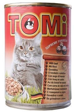 Tomi Veal Консервы Томи Влажный корм для котов с телятиной 0,4 кг