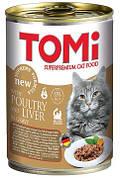 Консерви для кішок Tomi (Томі) Poultry Liver Птах-печінка 0,4 кг