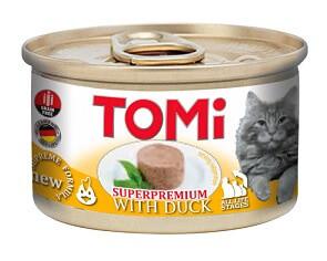 Tomi Duck Консервы Томи для котов Утка мусс 85 гр