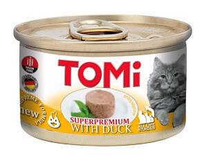 Tomi Duck Консервы Томи для котов Утка мусс 85 гр, фото 2