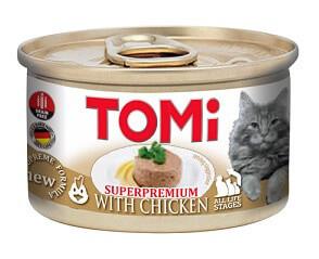 Tomi Chicken Консервы Томи для кошек Курица мусс 85 гр
