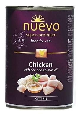 Nuevo (Нуэво) Adult Chicken Консервы для кошек Курица 400 гр