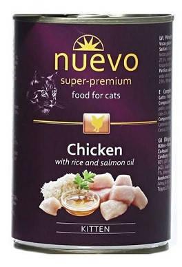 Nuevo (Нуэво) Adult Chicken Консервы для кошек Курица 400 гр, фото 2