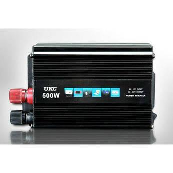 Преобразователь авто инвертор UKC 12V-220V 500W
