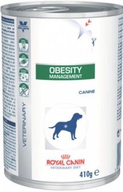 Лечебный влажный корм Royal Canin Obesity для собак при ожирении 410 г