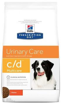 Лечебный корм Hill's C/D Urinary Care при мочекаменной болезни 2 кг