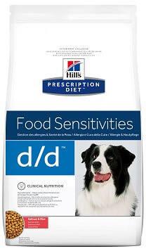 Hill's D/D Sensitivities Лікувальний корм Хіллс для собак c проблемною шкірою 2 кг, фото 2
