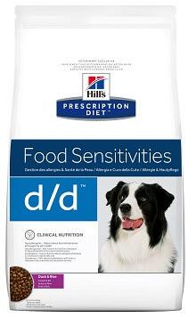 Лечебный корм Hill's (Хиллс) D/D Sensitivities при аллергии у собак 12 кг