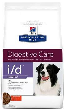 Hill's I/D Low Fat Лікувальний корм для собак Хіллс при панкреатиті 12 кг, фото 2