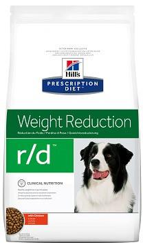 Лікувальний корм для собак hill's (Хіллс) R/D при ожирінні і зайвій вазі 1,5 кг