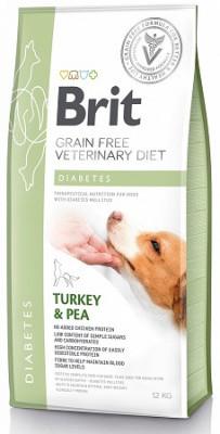 Brit (Брит) VD Diabetes Лечебный корм для собак при сахарном диабете 12 кг