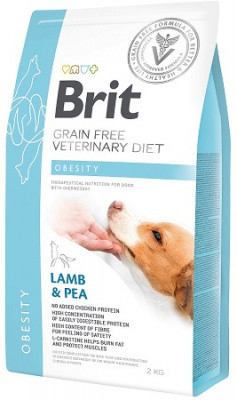 Лечебный корм Brit (Брит) VD Obesity для собак при избыточном весе 2 кг