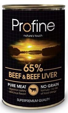 Profine (Профайн) Влажный корм для собак Говядина-Печень 400 гр