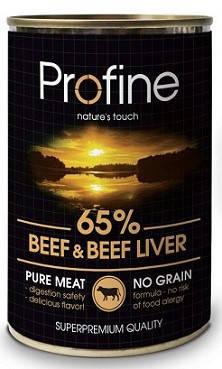 Profine (Профайн) Влажный корм для собак Говядина-Печень 400 гр, фото 2